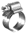Embossed Worm-Gear Hose Clamps